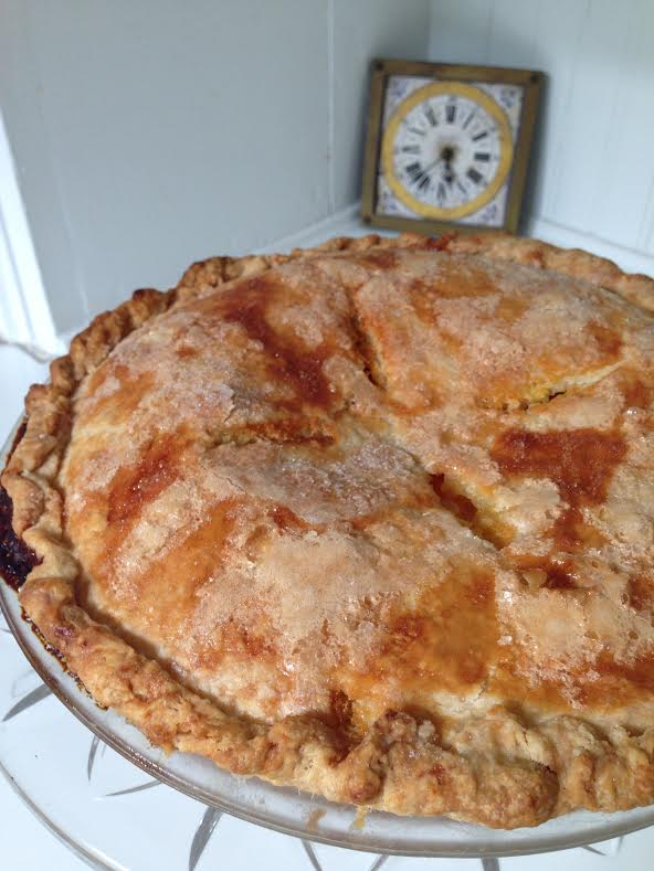 What time is it? Grapefruit pie time.