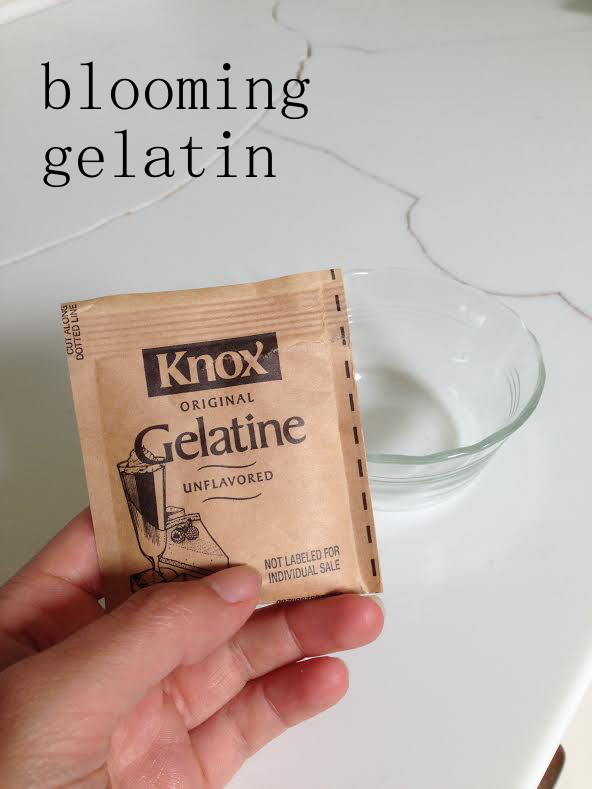 blooming gelatin