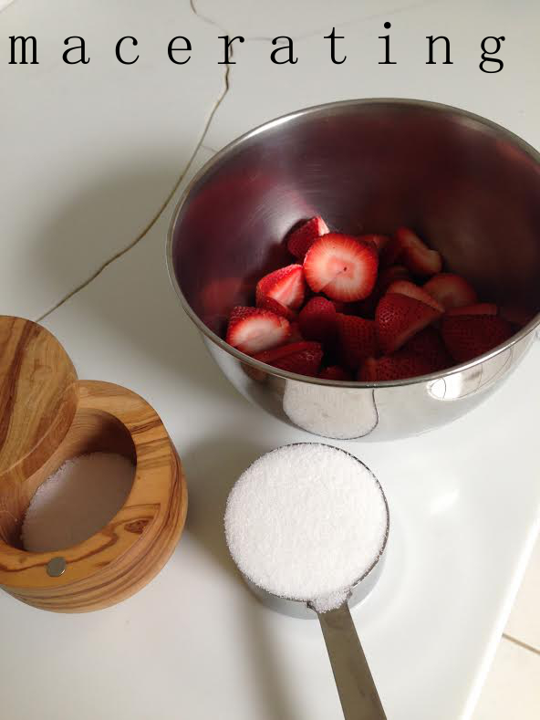 macerating fruit