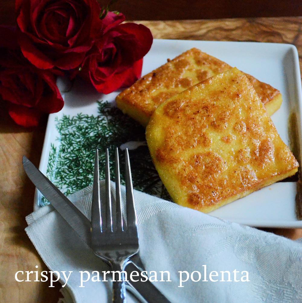 Crispy Parmesan Polenta