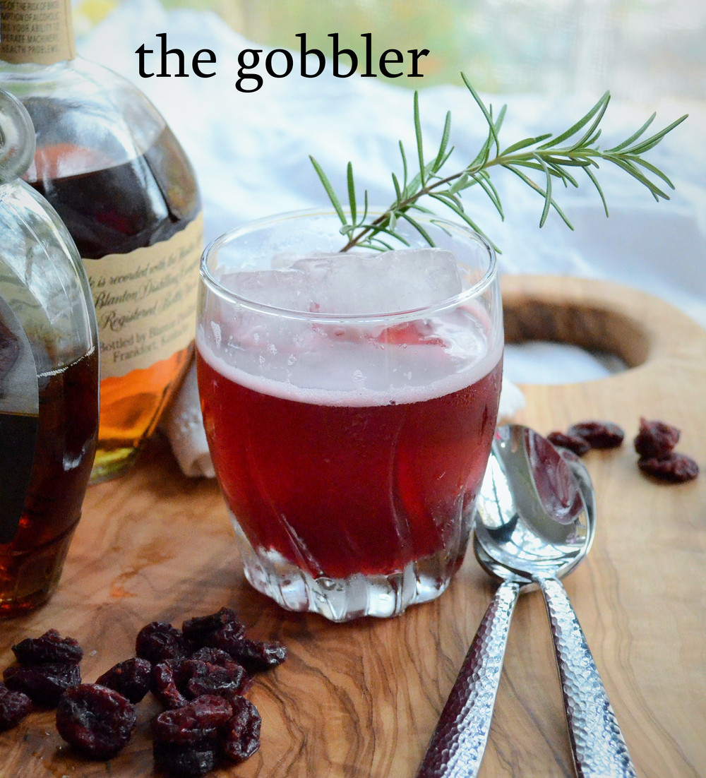 cranberry bourbon sour
