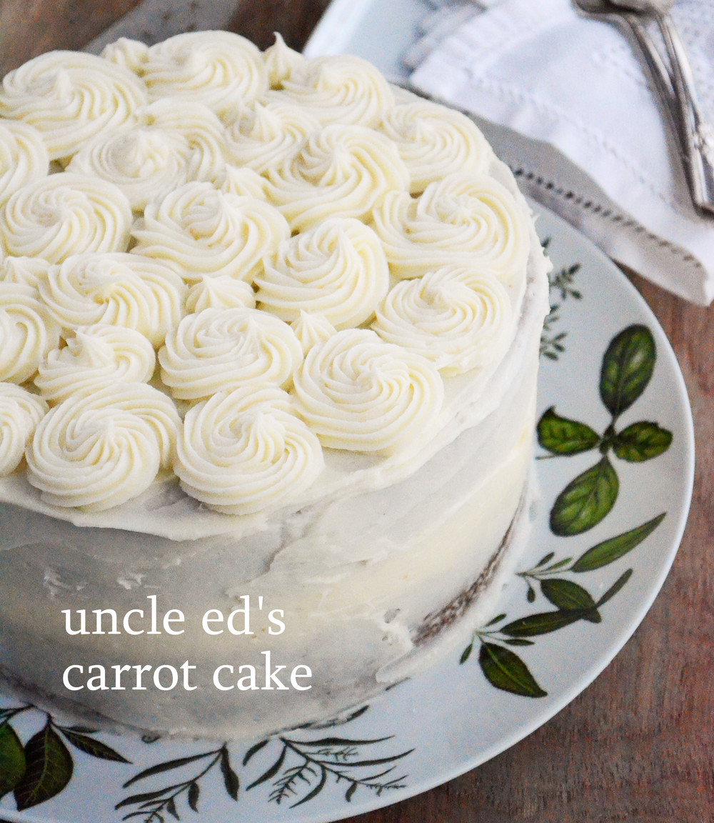 Uncle Ed's Carrot Cake