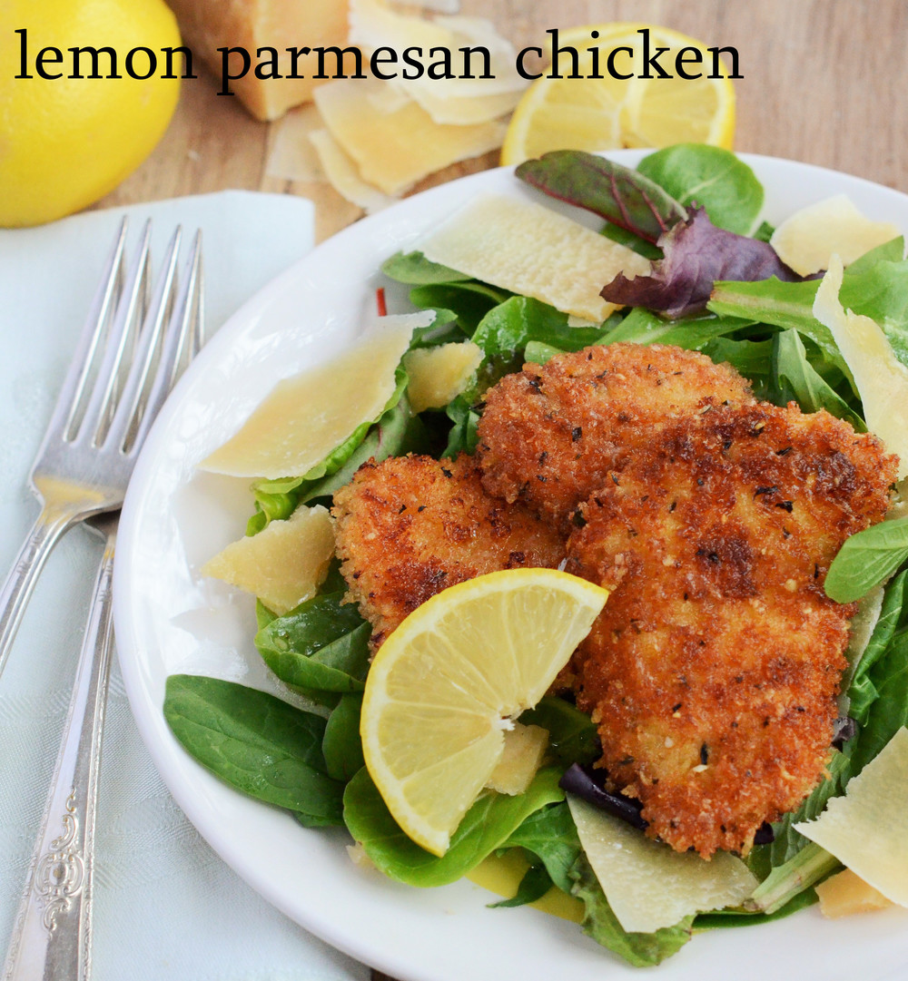 lemon parmesan chicken