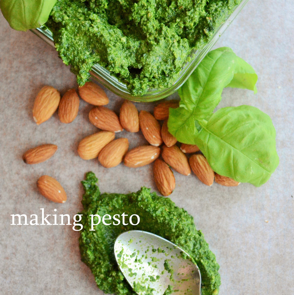 Making Pesto without a Recipe