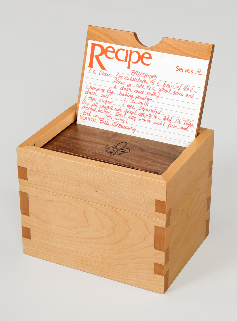Heritage Recipe Box.