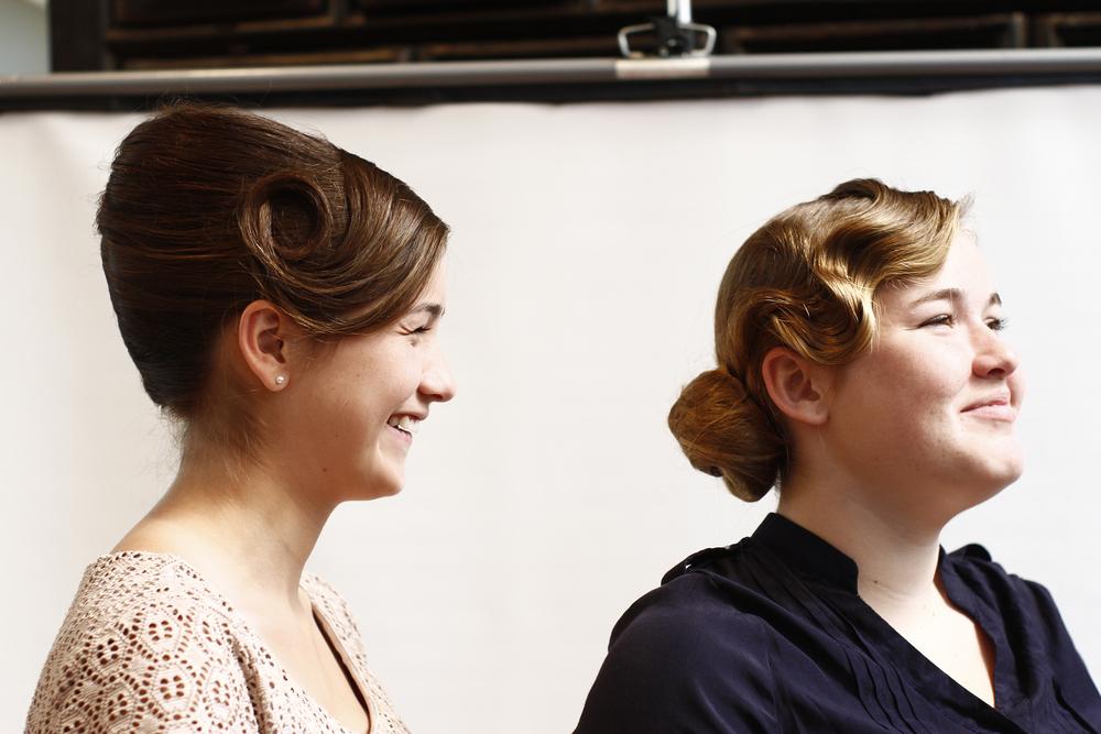 Danielle and Sarah's models (sisters).JPG