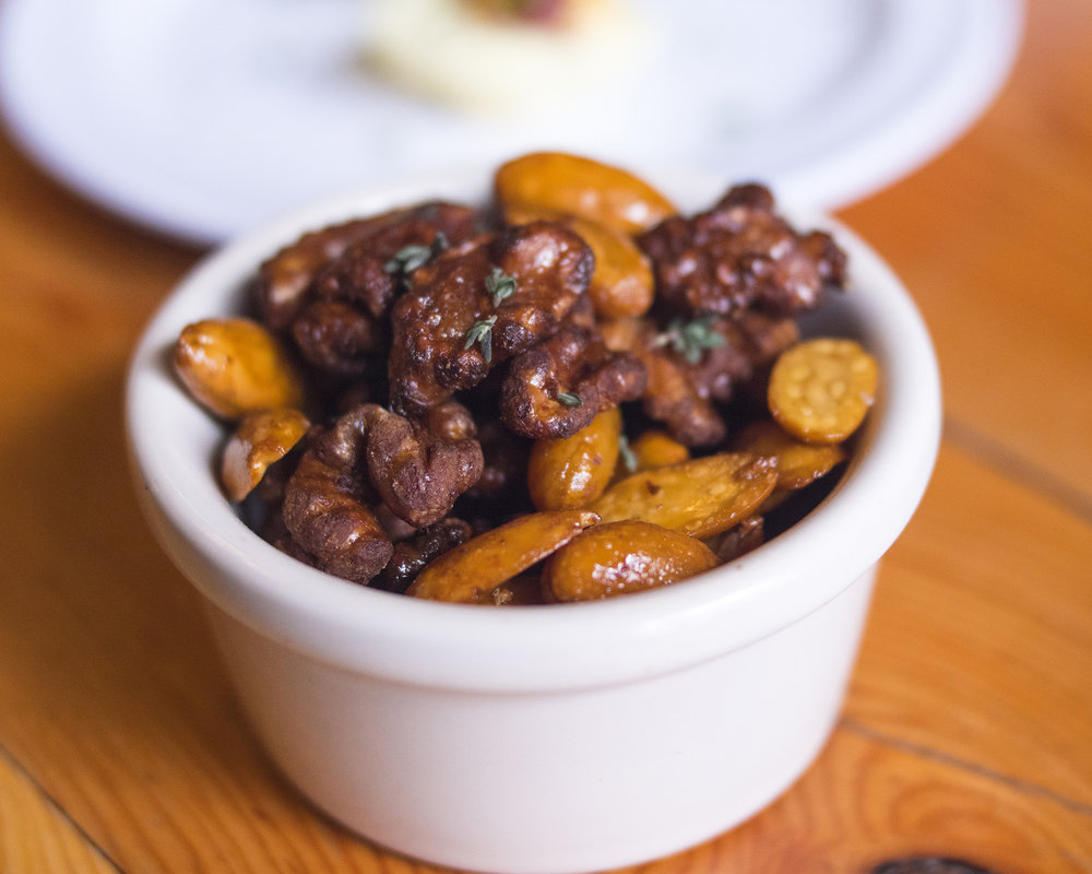 Candied Spiced Beer Nuts