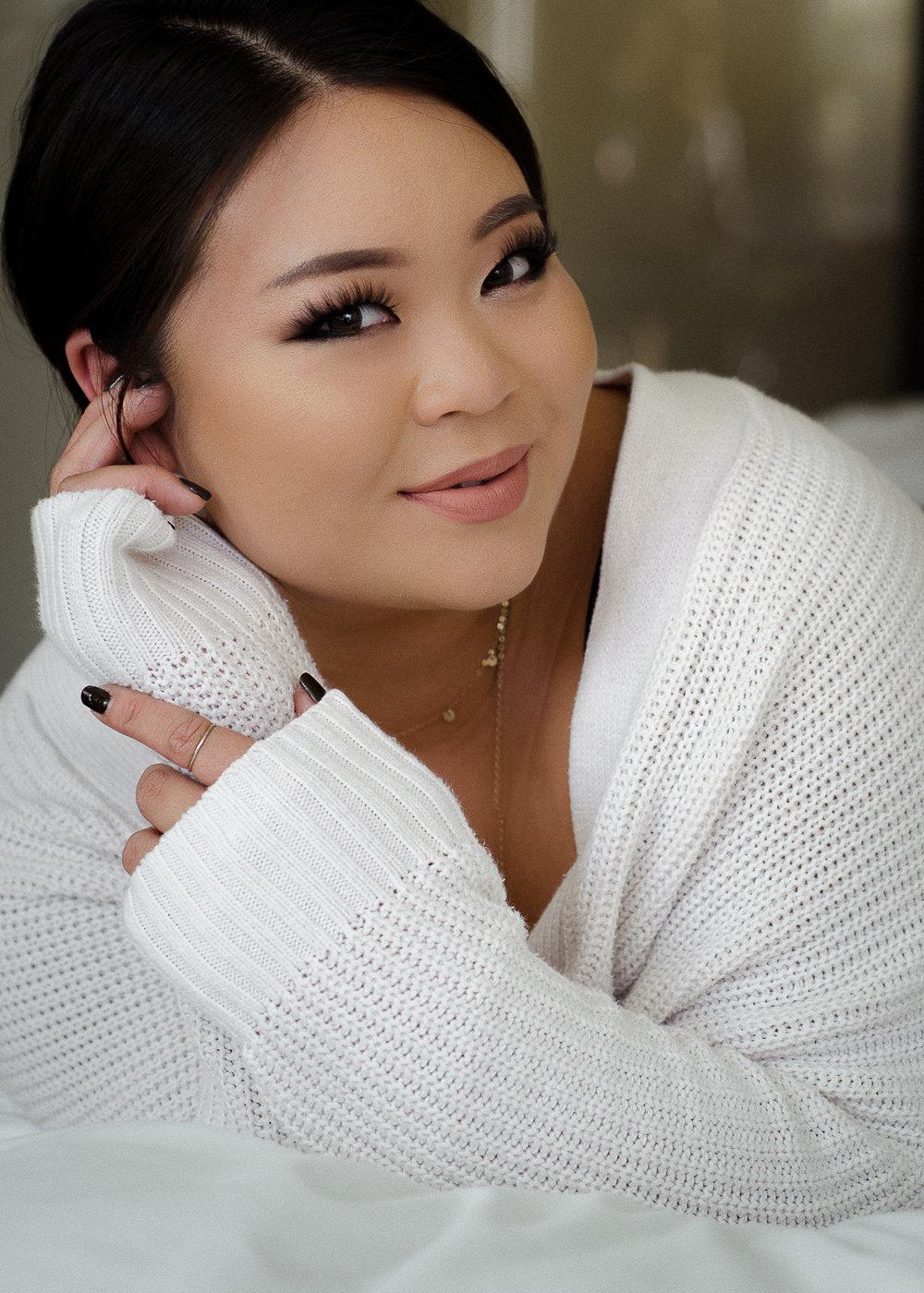 Los Angeles Makeup Artist Crystal Wei Personal Branding Headshot Miranda Kelton Photography