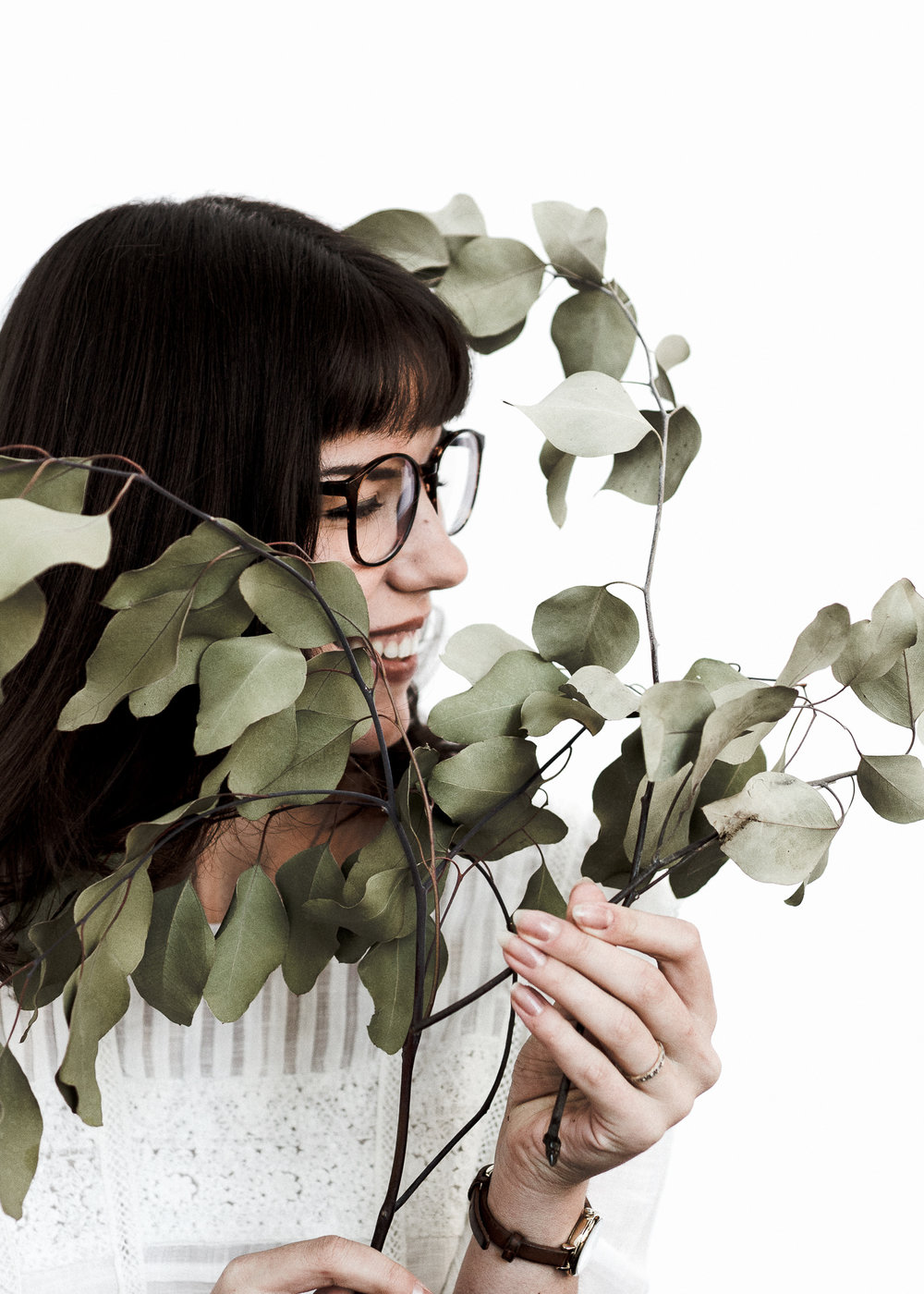 Portland Personal Branding Photographer The Overgrowth Eucalyptus Miranda Kelton Photography