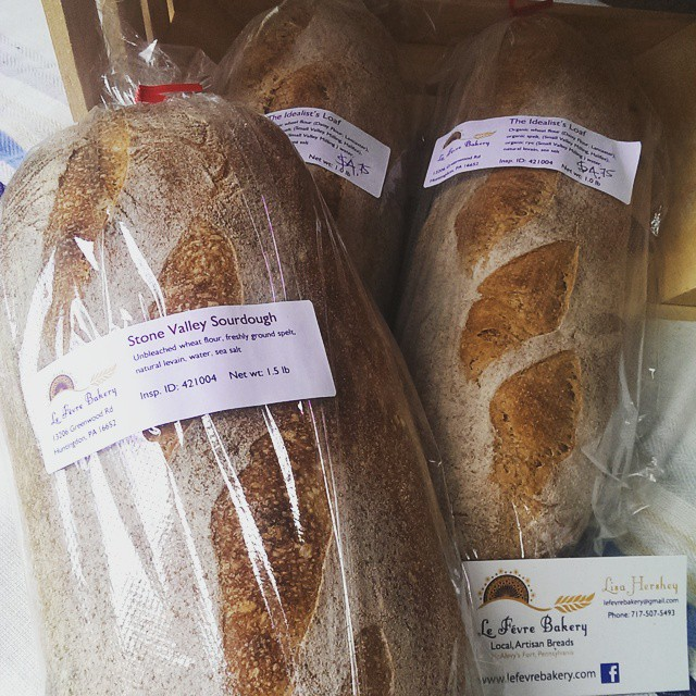 Driving on Route 26 today? Don't forget your sustenance for the journey!  Fresh bread is for sale Tuesday - Friday at McBurney Manor!