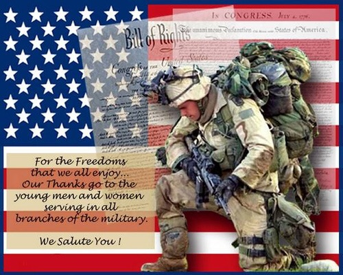 We will remember our heros today! Happy 4th everyone!