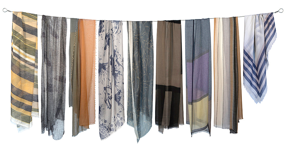 scarves and wraps from kate canyon | fashion
