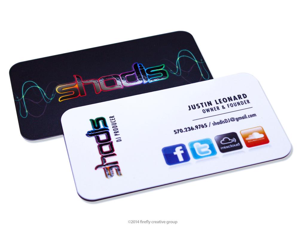 Shadis Business Card Design