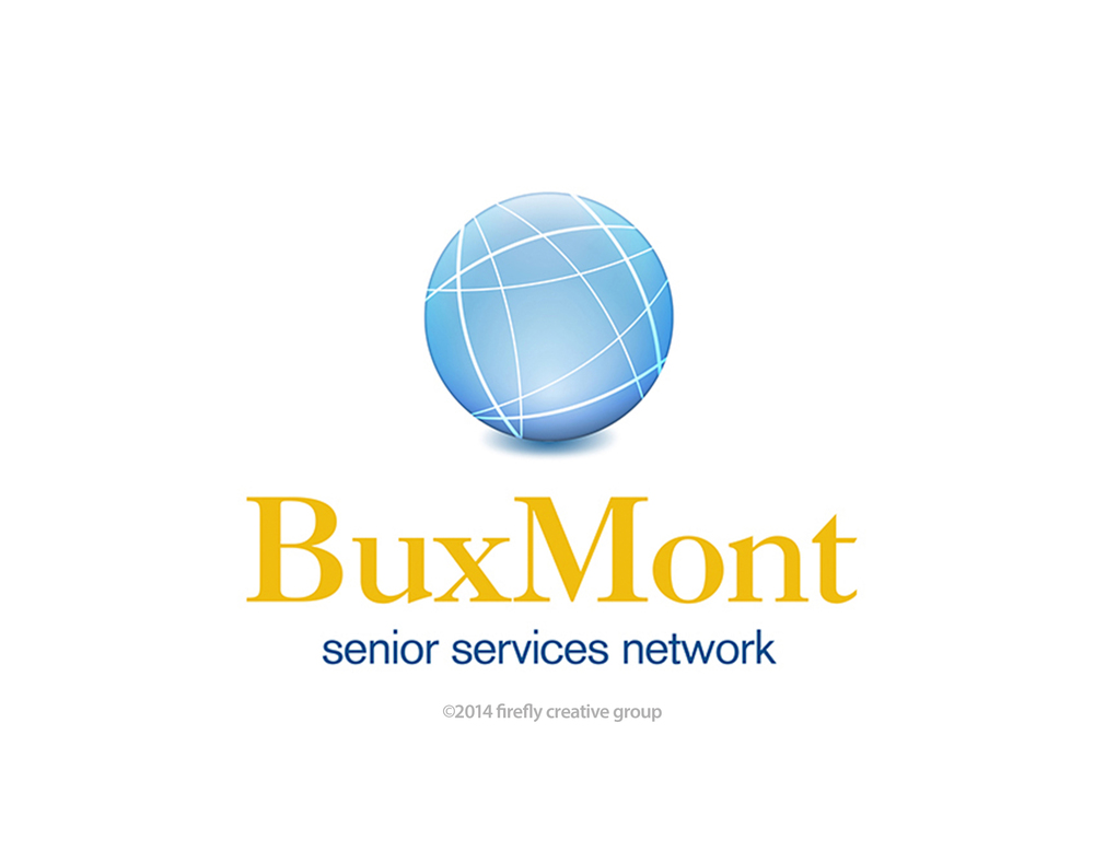 BuxMont Senior Services Logo Design