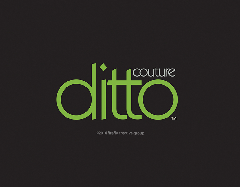 Ditto Couture Logo Design