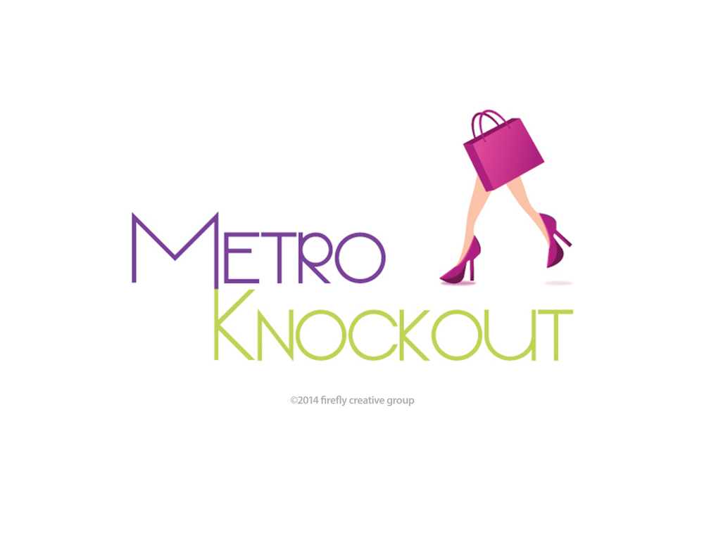 Metro Knockout Logo Design