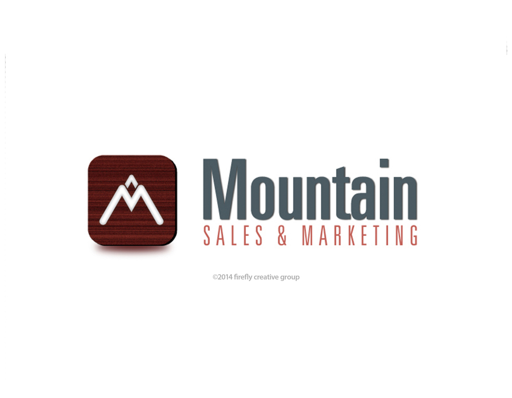 Mountain Sales & Marketing Logo Design