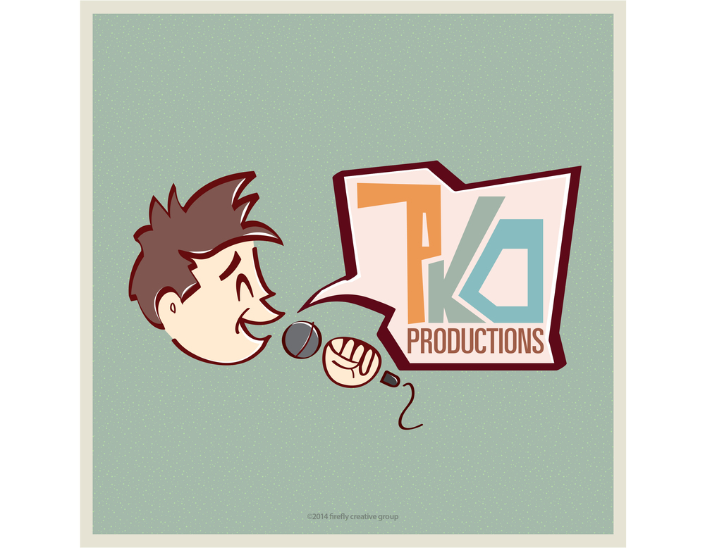 PKO Productions Logo Design