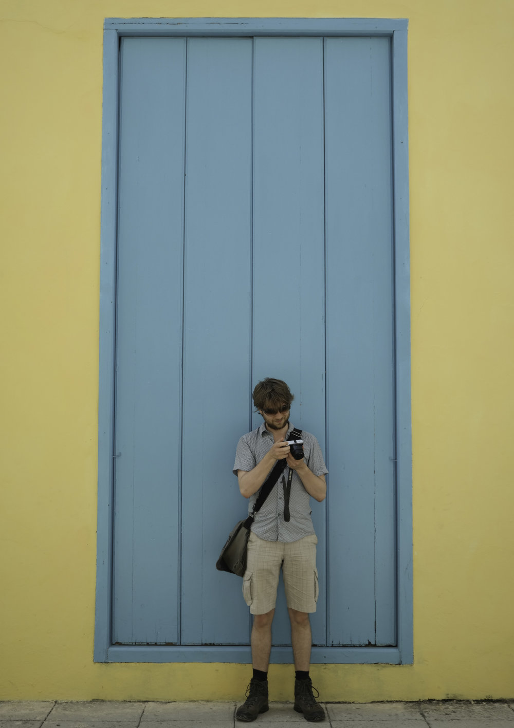 Yellow, blue, and photography.Trinidad.jpg