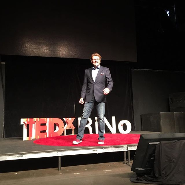 """Understand chaos at every level. So we can better assess how to respond. Like the clown fish at the loss of their matriarch."" Kurt MacDonald #TEDxRiNo #TEDxRiNoOrigins"
