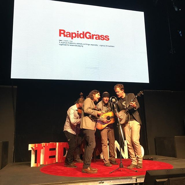"""I love you like a river running through my home."" @rapidgrass #TEDxRiNo #TEDxRiNoOrigins"