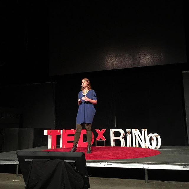 """You can pee next to me."" @racheleveryday #TEDxRiNoOrigins #TEDxRiNo"