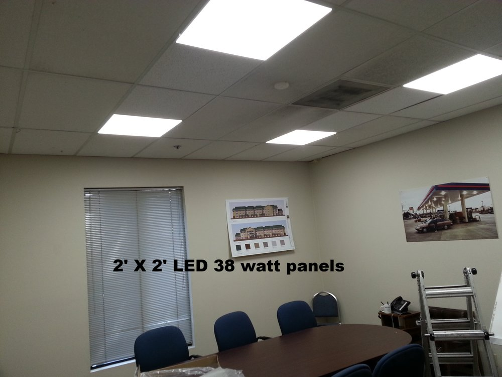 Our LED panels adapt to just about any application. Our design team always select the correct color of light. Most offices are designed with either 4000 or 5000 K.