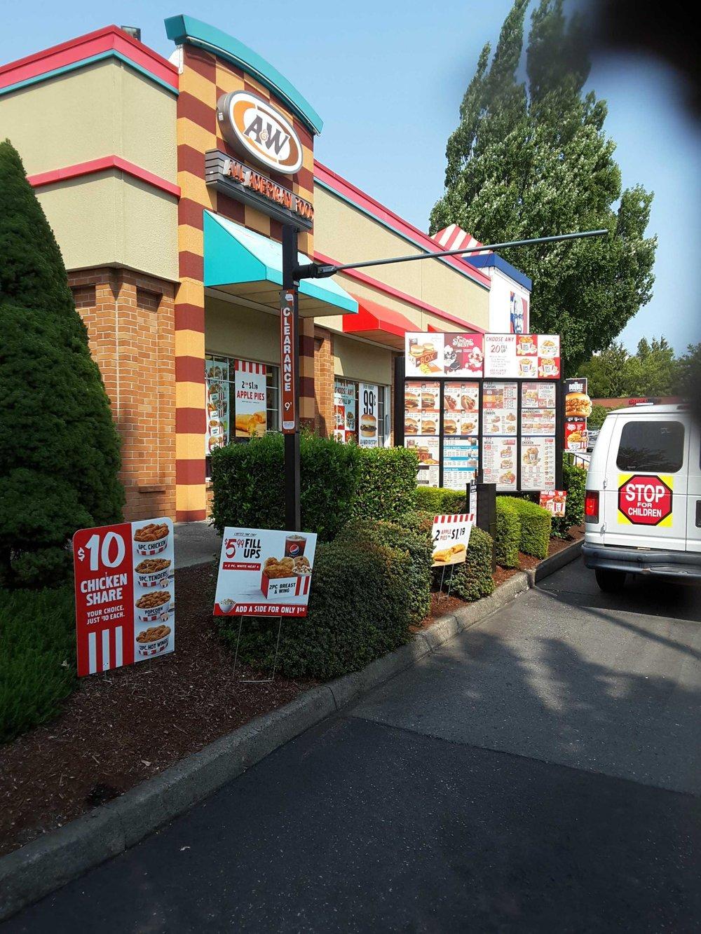 KFC & A&W Off 205