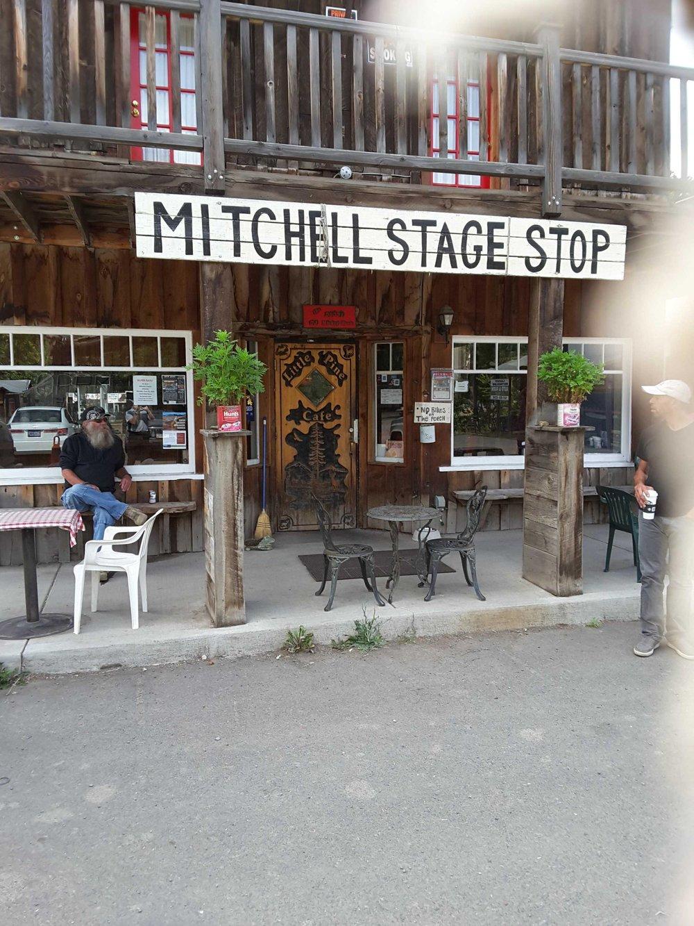 Mitchell Stage Stop, Mitchell Oregon
