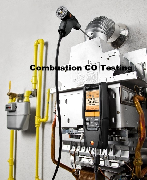 Gas Combustion Testing