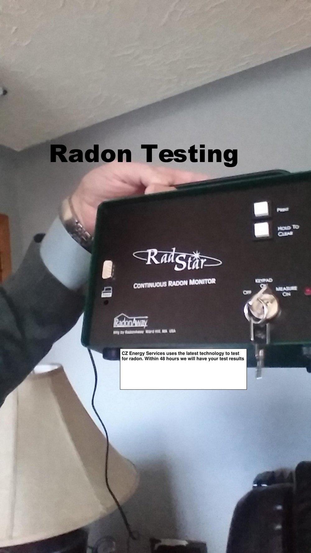 Copy of Copy of Radon Testing