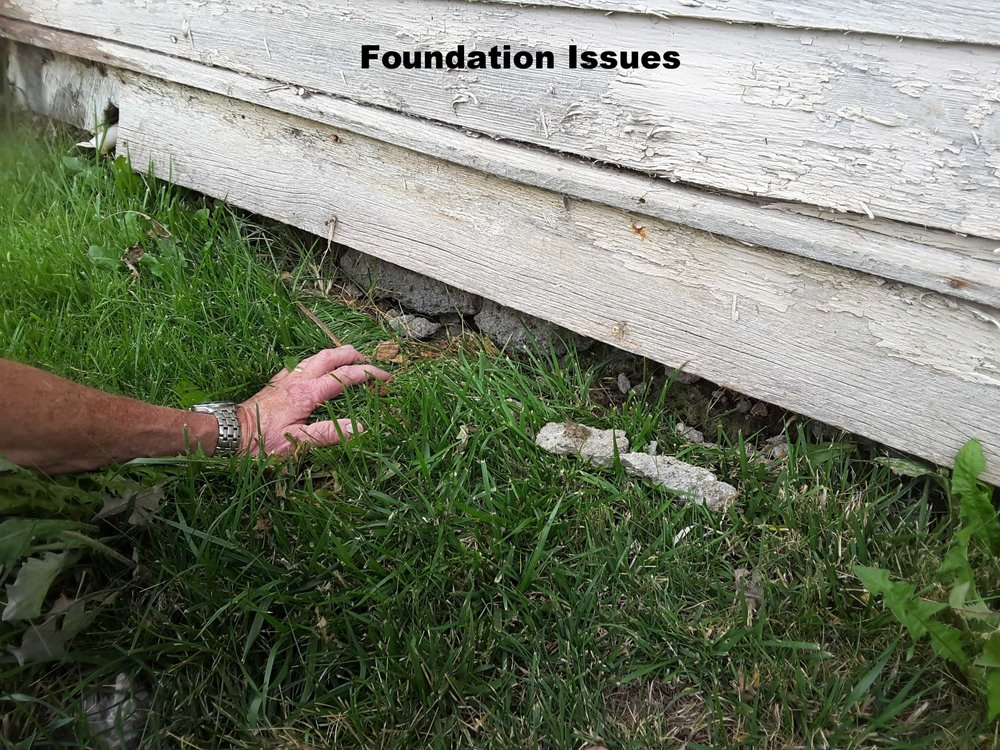 Foundation Issues - If you don't look hard enough, things will be missed