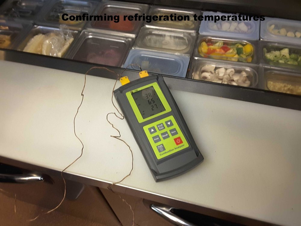 Restaurant Equipment Testing -