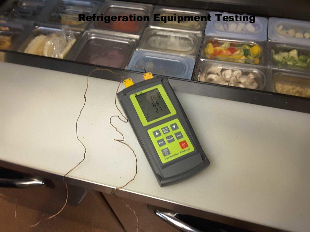 Restaurant Equipment - Testing