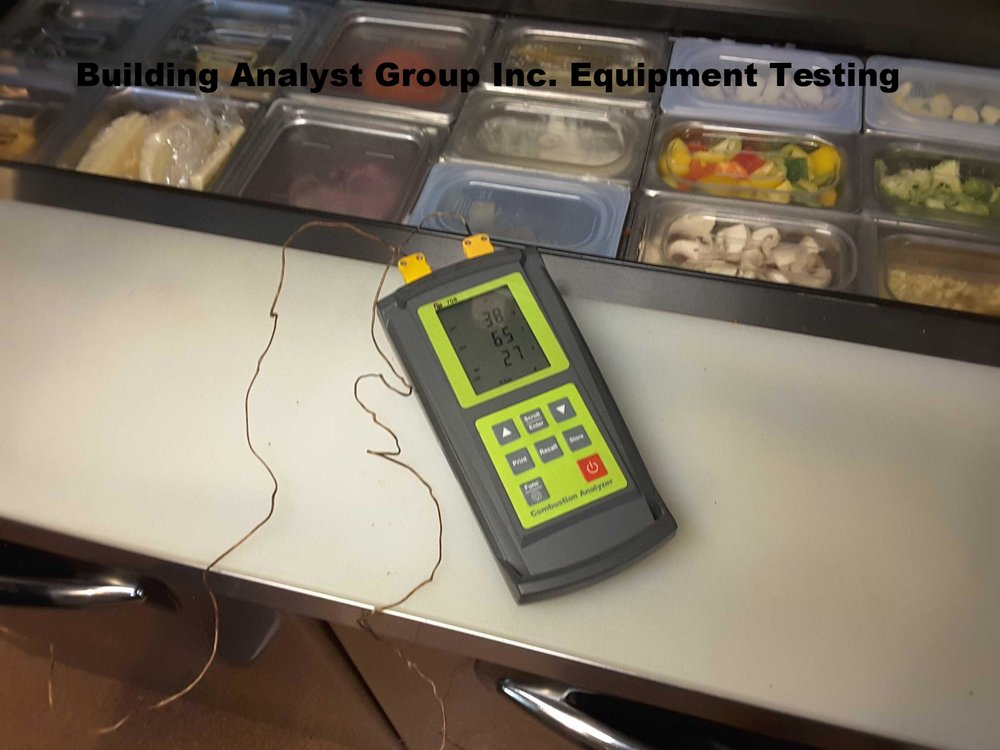 Restaurant Equipment Testing