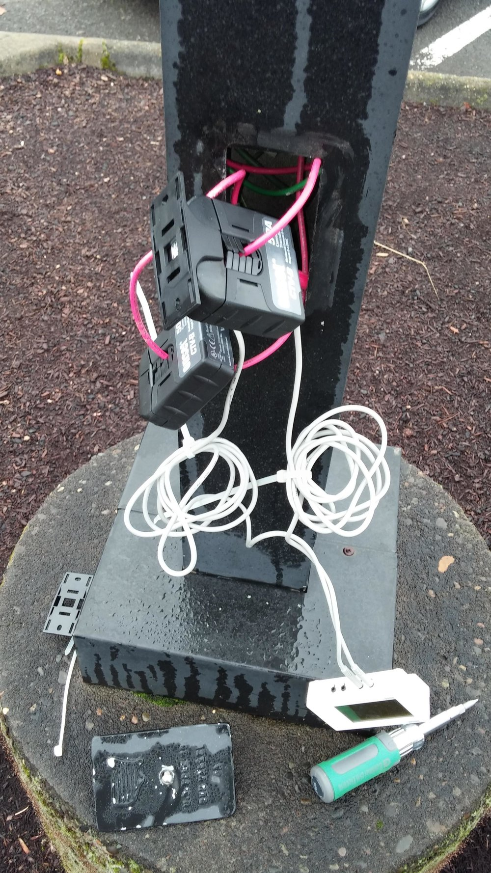 Data Logging - We attach our data loggers to high voltage electrical to measure usage over a period of time. One day to one year depending on your needs.