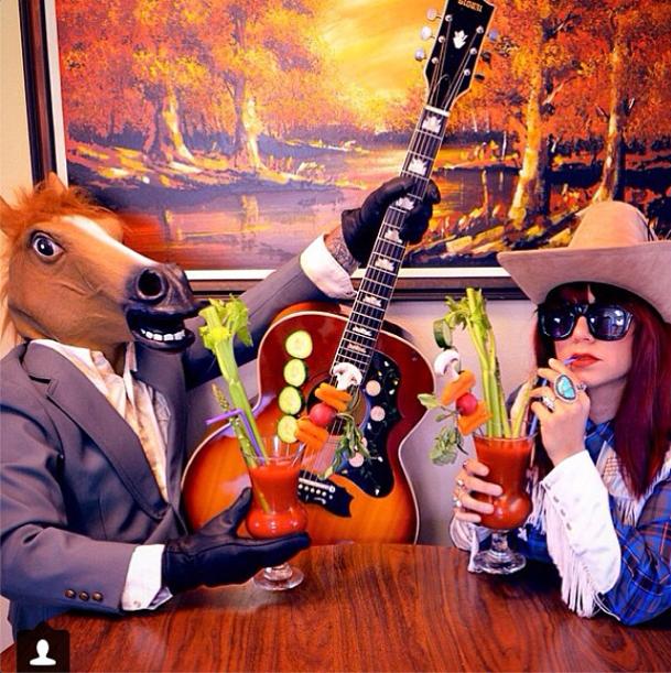 Winner of the 2014 Bloody Mary Brawl! @beckysaurusrex and @hoffmanmetalcraft