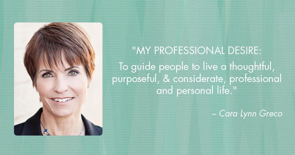 Cara Lynn Greco Passion Profile