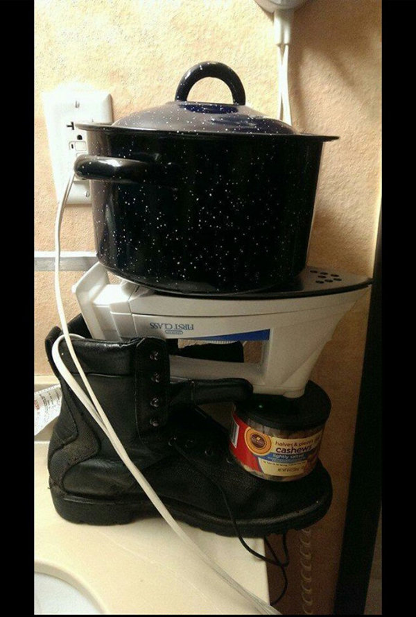 No stove? No problem!     http://bit.ly/1CR4Z5W