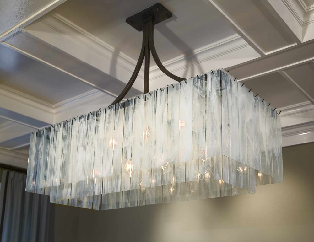 Light Fair International (LFI) Award Winning Haiku Chandelier