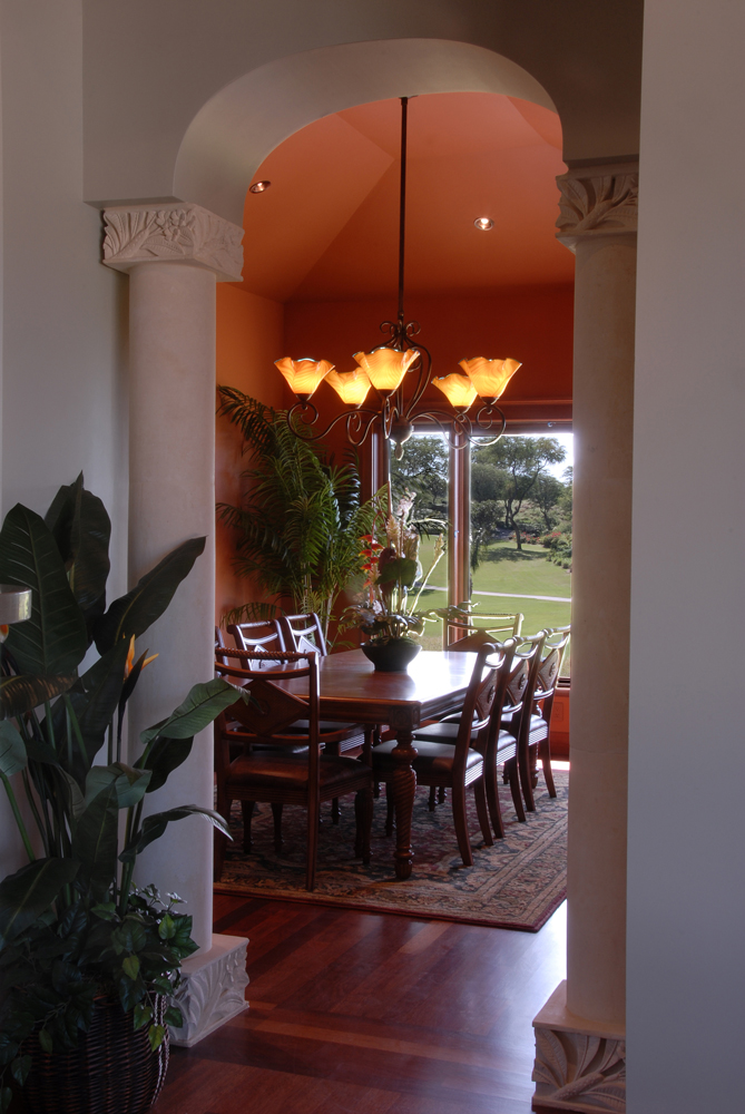 Robers 5 light Sun Valley Chandelier wailea
