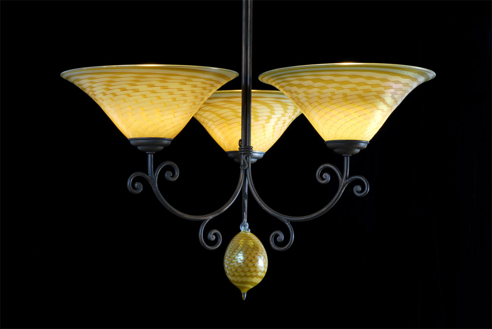Andale Chandeliers Tapa Lemon Silver