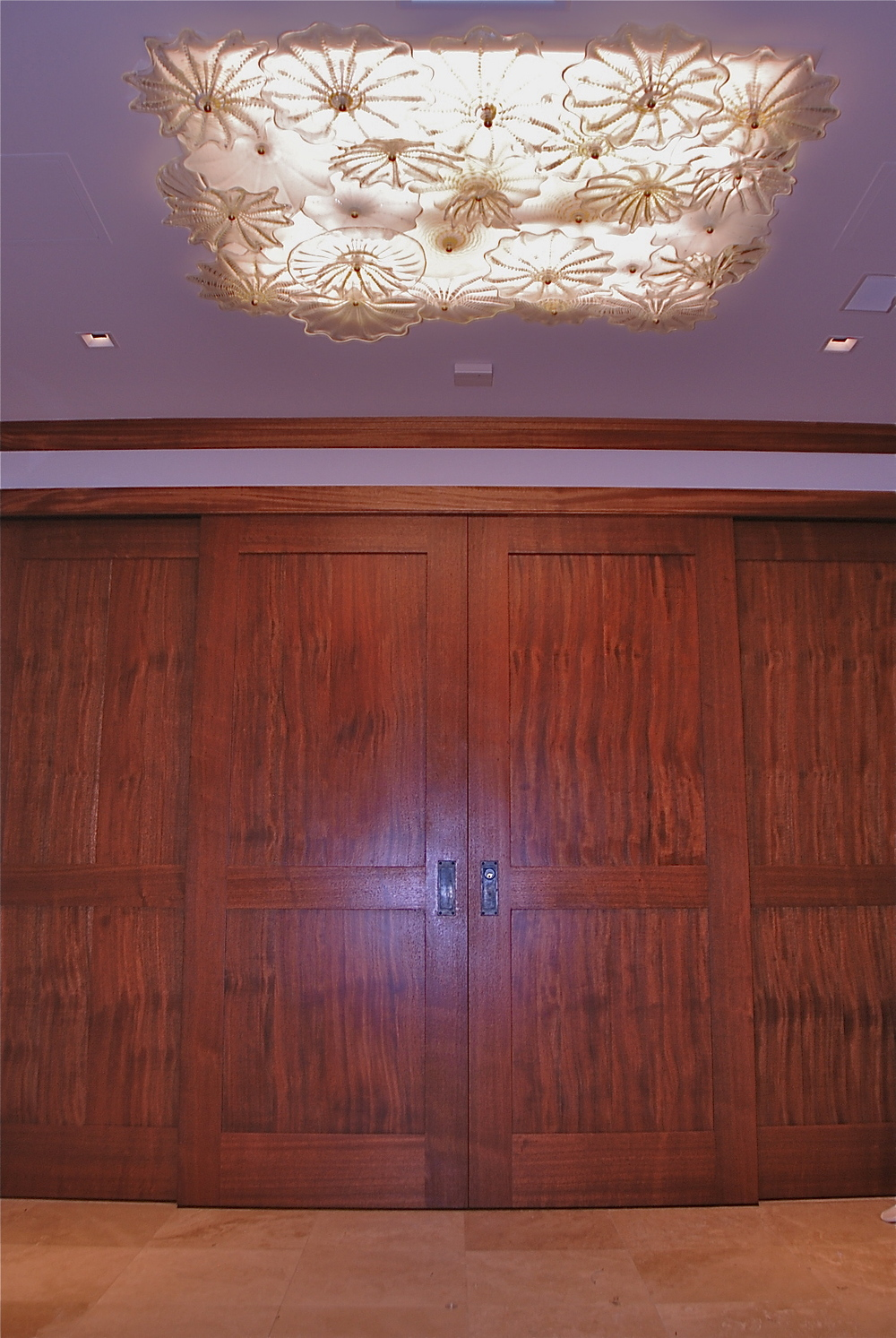 Overview, Master Foyer Ceiling Lamp, Oahu Residence