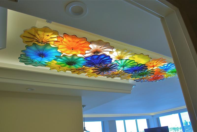 entryway Rondel ceiling lamp Coronado