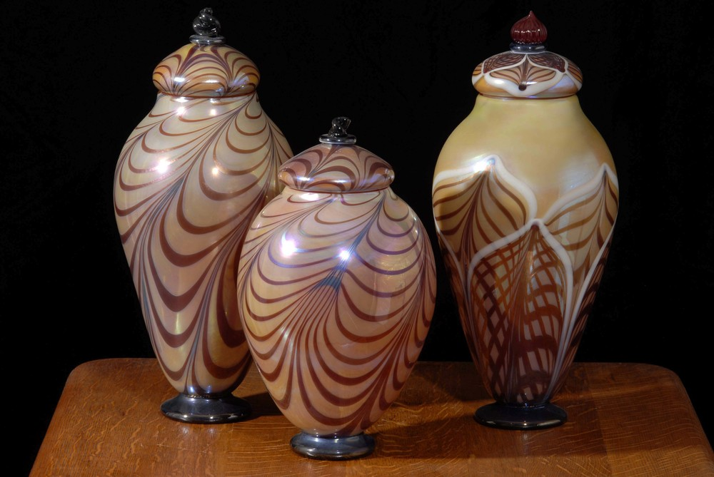 Florentine Urns Large and Medium