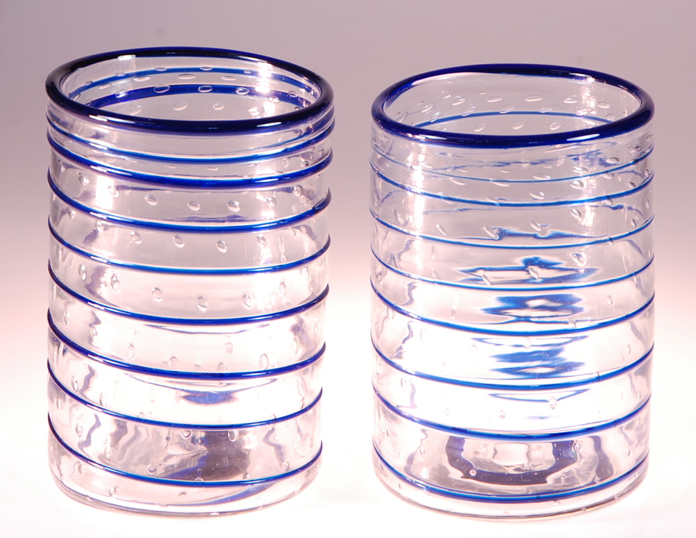 """big gulps""  drinking glasses by rick strini"