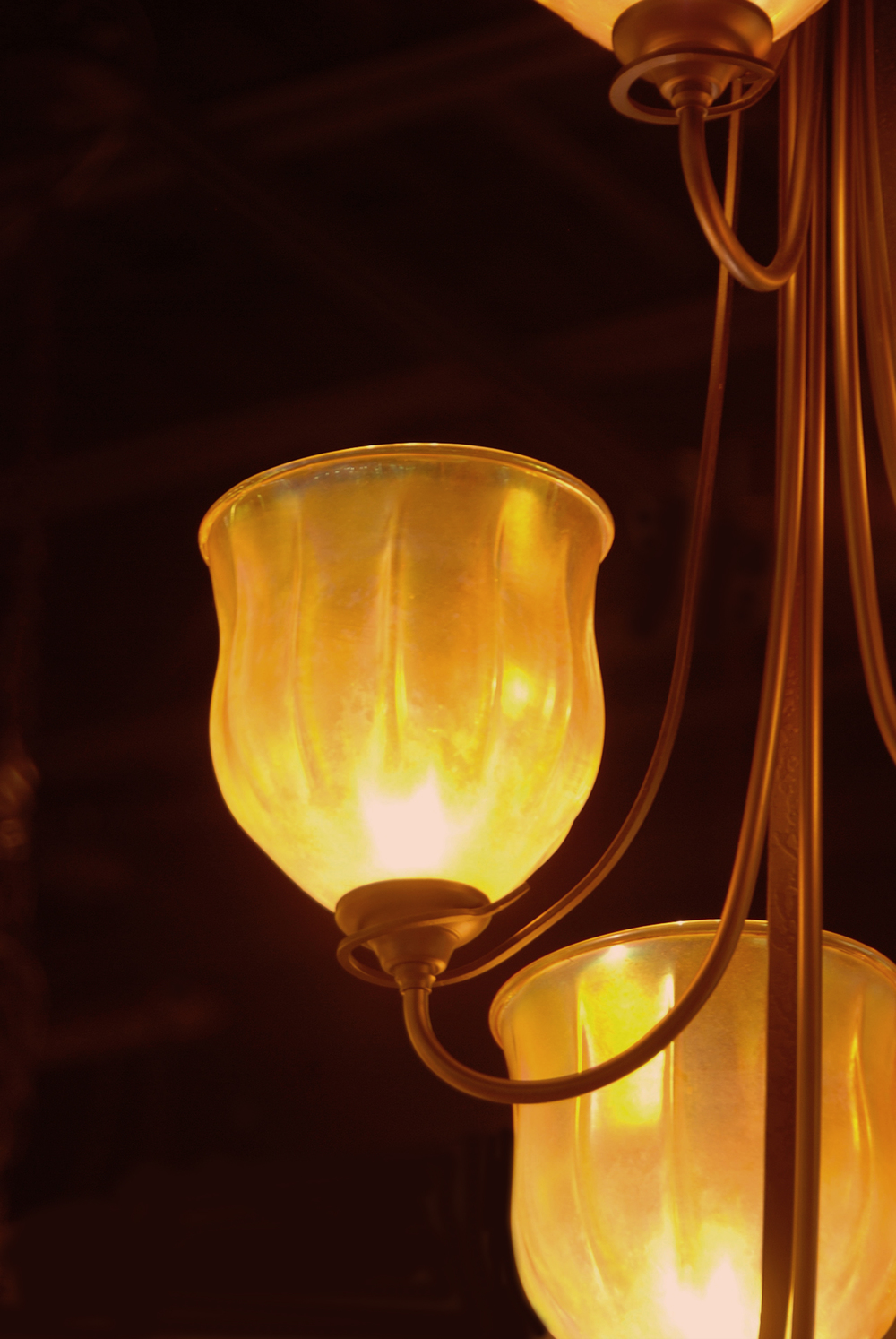 gold luster optic Hubbardton Forge retrofits