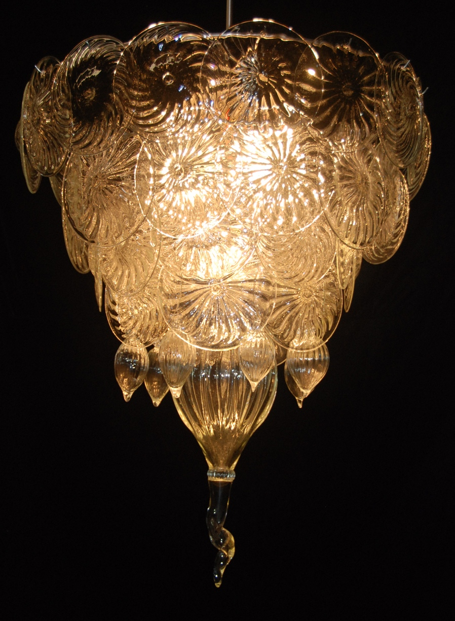 Chandelier Rondel clear by artist rick strini .jpg