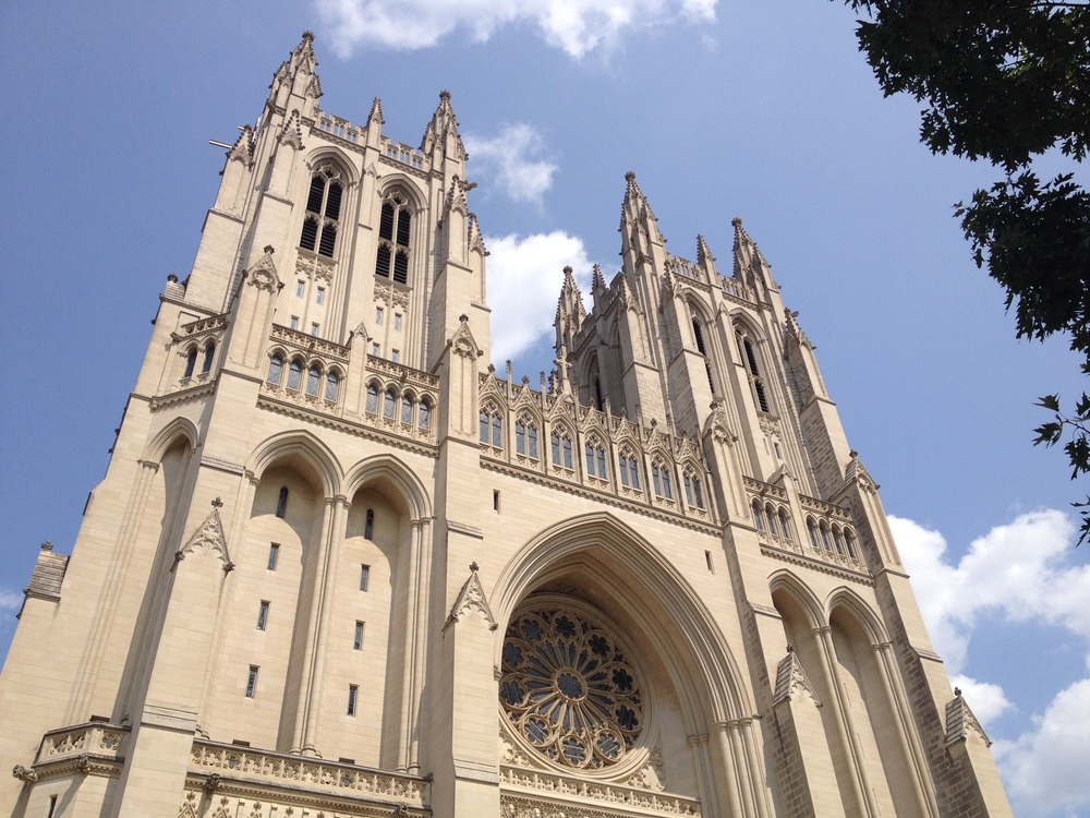The National Cathedral,  built in like 1910 and houses one of the largerst collections of contempory stained glass and wrought iron work in the United States.  Needless to say this was very heavy.  I was in Washington DC for a week on business.   rick strini