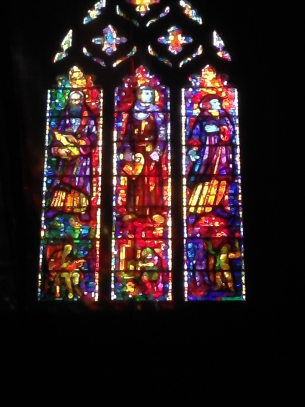 More from the National Cathedral in Washington DC.  Contemporary stained glass .  huge.   www.striniartglasscustomlighting.com   new web site. please visit.  rick